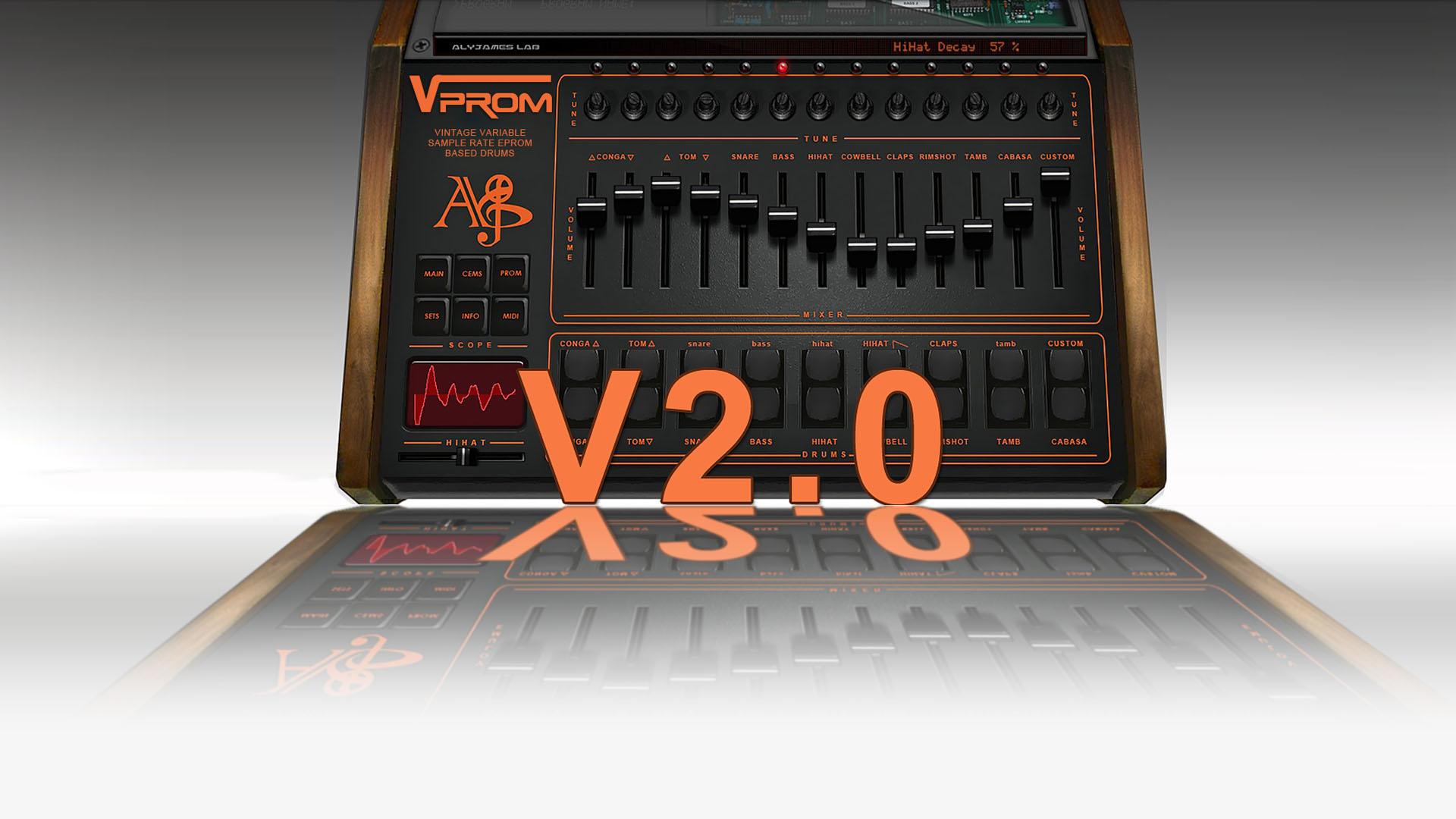 ALYJAMES LAB | ALY JAMES LAB VPROM 2 0 VST --- VPROM VST